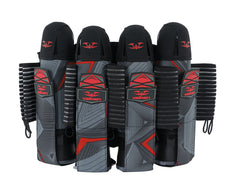 2015 Valken Redemption Vexagon Paintball Harness 4+7 - Red/Grey