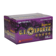 GI Sportz 5 Star Paintball Case 500 Rounds - Yellow Fill