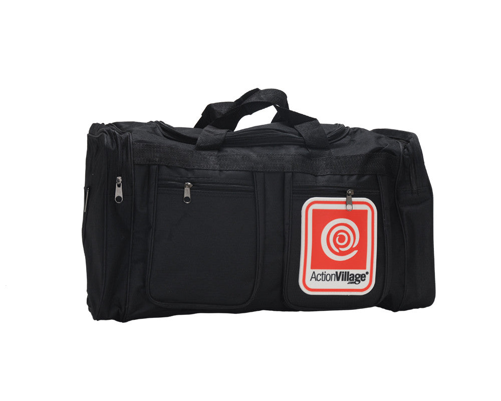 AVI Medium Duffle Bag - Black