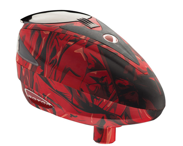 2012 Dye Rotor Paintball Loader - Red Cloth