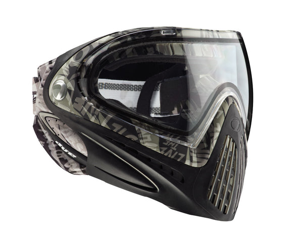 2012 Dye Invision Goggle I4 Pro Mask - Grey Tiger