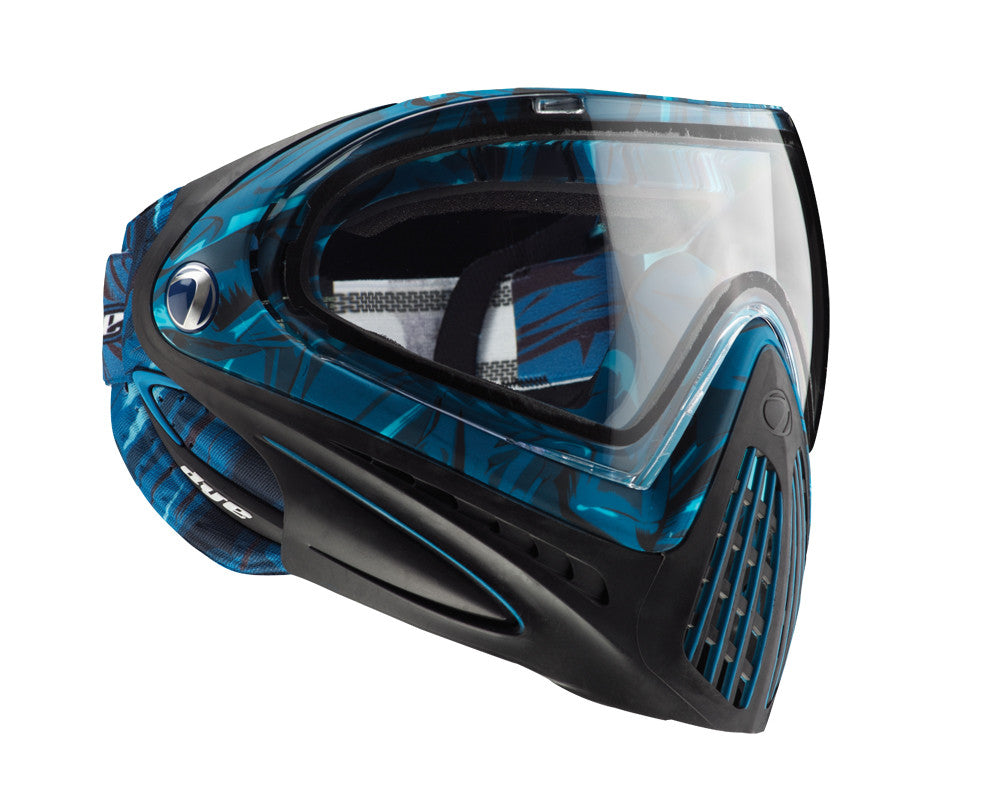 2012 Dye Invision Goggle I4 Pro Mask - Blue Cloth