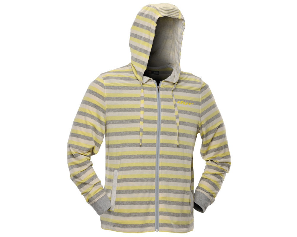 Dye 2012 Stripes Hooded Sweatshirt - Yellow