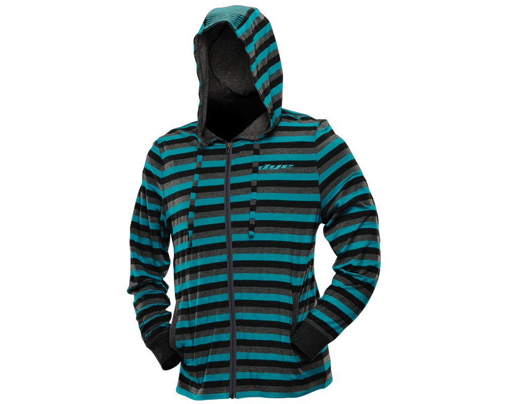 Dye 2012 Stripes Hooded Sweatshirt - Blue