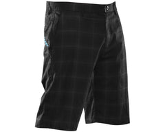2012 Dye Plaid Shorts - Black/Grey