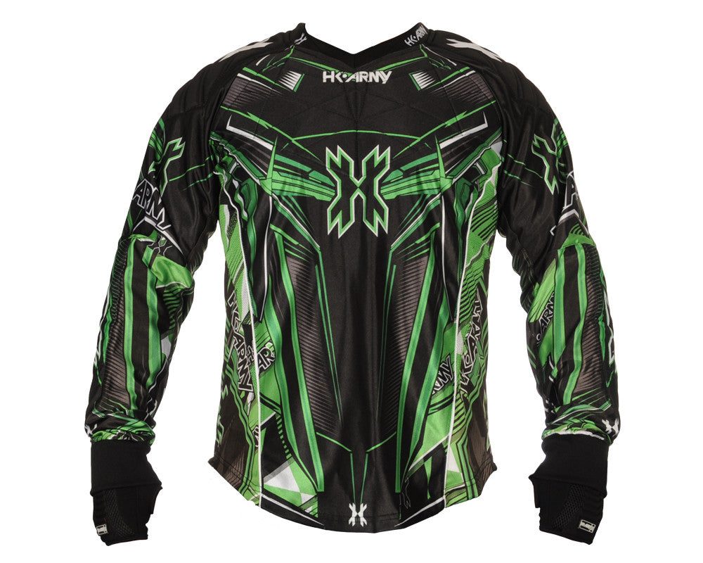 HK Army 2014 Hardline Paintball Jersey - Slime