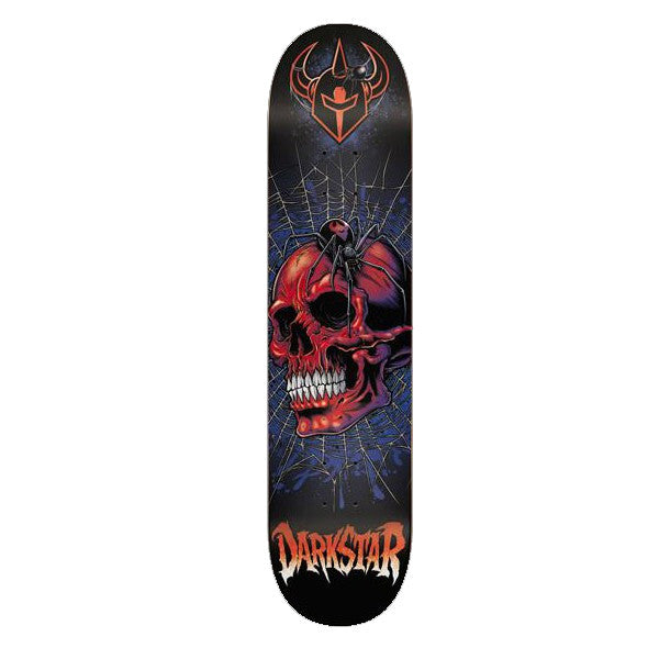 DarkStar Entrance Spider SL - Black/Red - 8.0 - Skateboard Deck