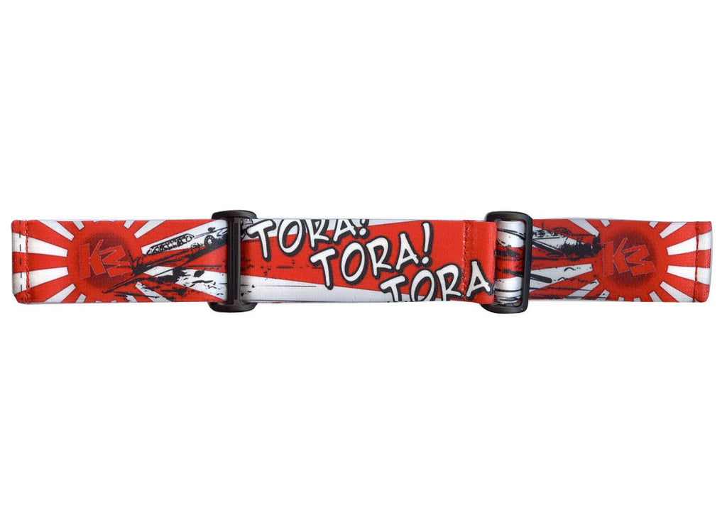 KM Paintball Goggle Strap - 09 Tora