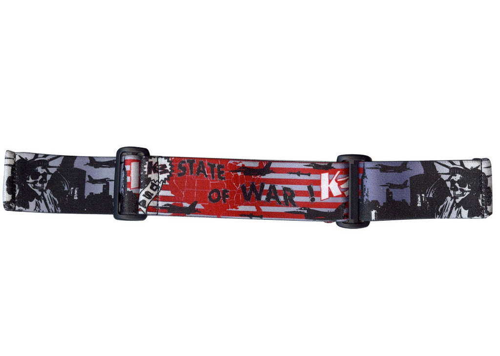 KM Paintball Goggle Strap - 09 State of War