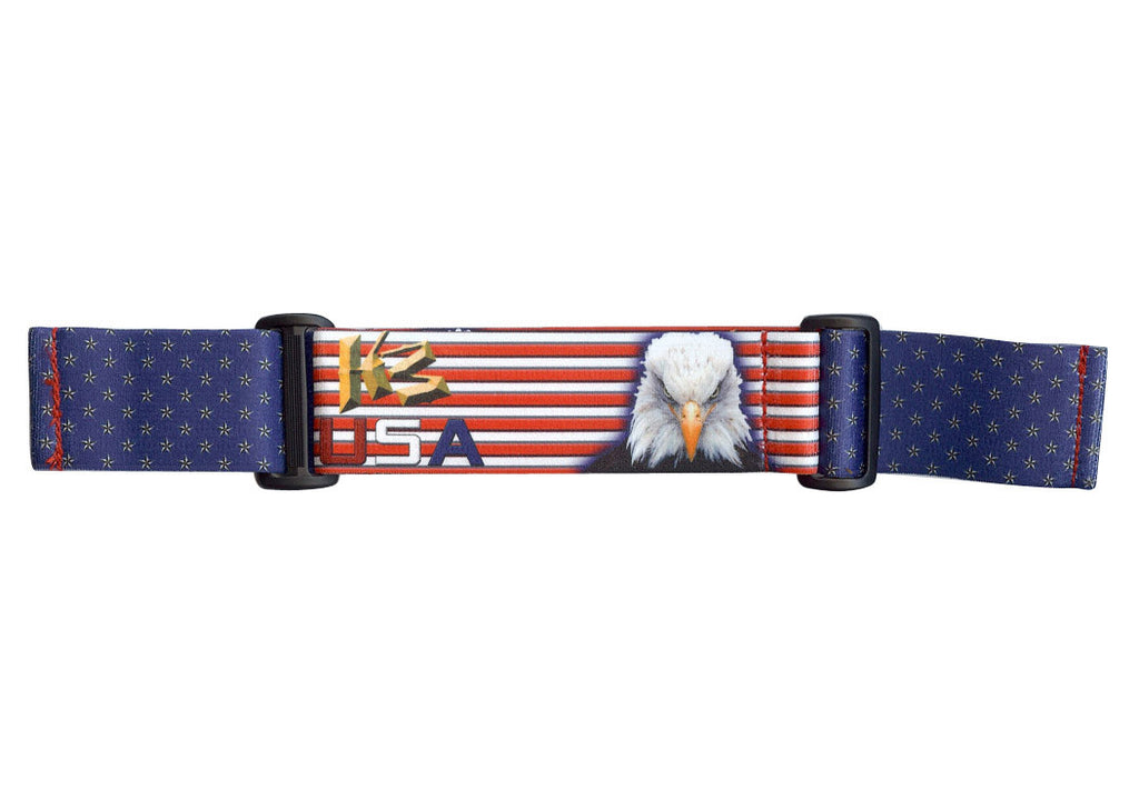 KM Paintball Goggle Strap - USA