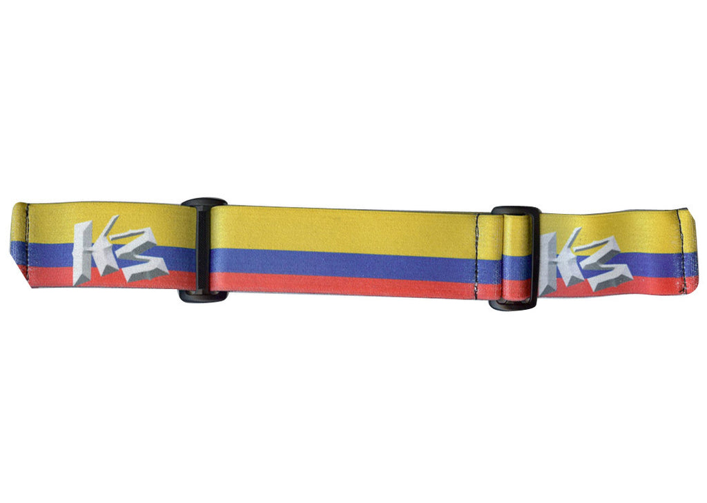 KM Paintball Goggle Strap - 09 Columbia