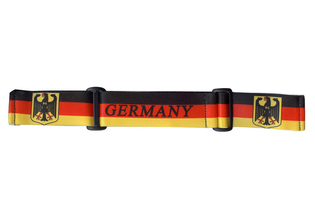 KM Paintball Goggle Strap - 09 Germany