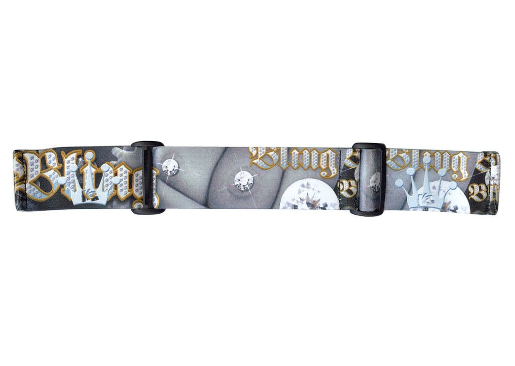 KM Paintball Goggle Strap - 09 DS Bling