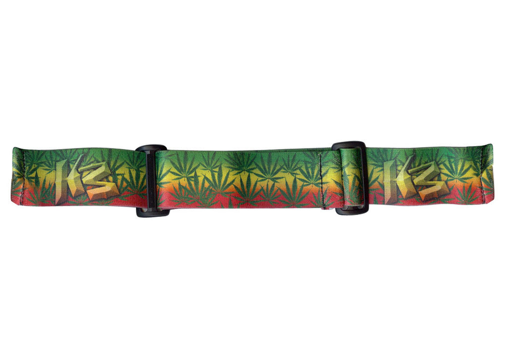 KM Paintball Goggle Strap - 09 420 Rasta