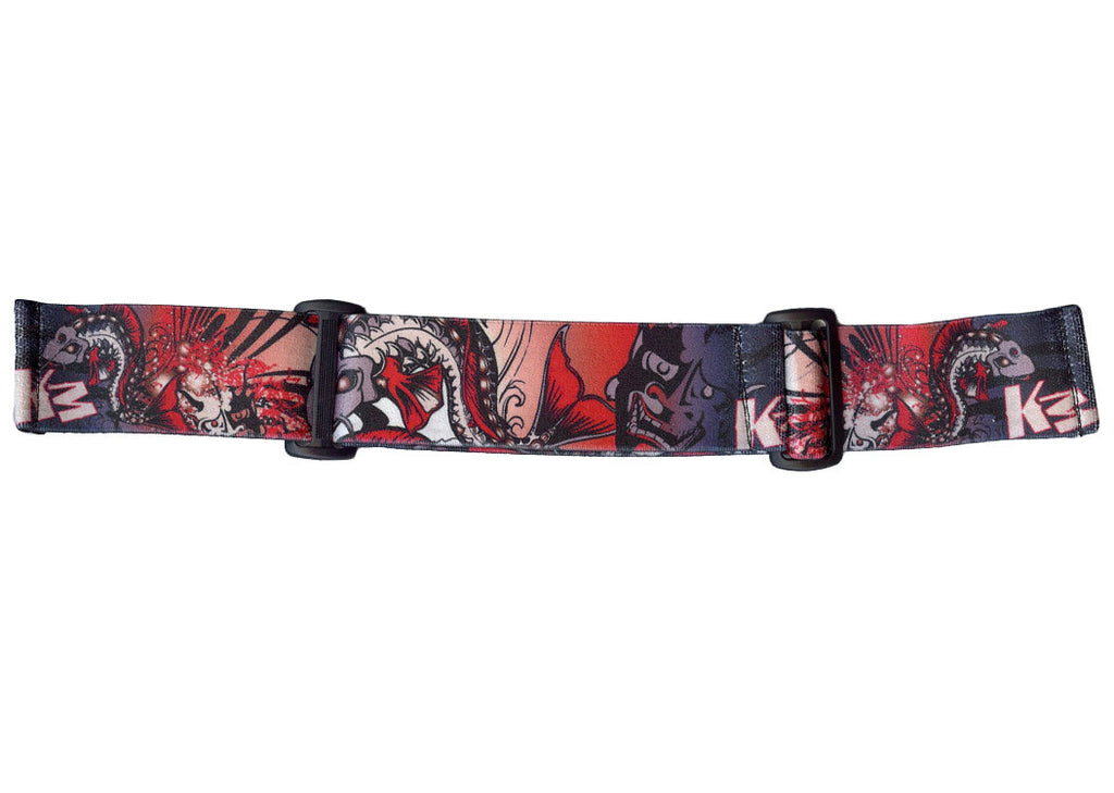 KM Paintball Goggle Strap - 09 Koi Grey
