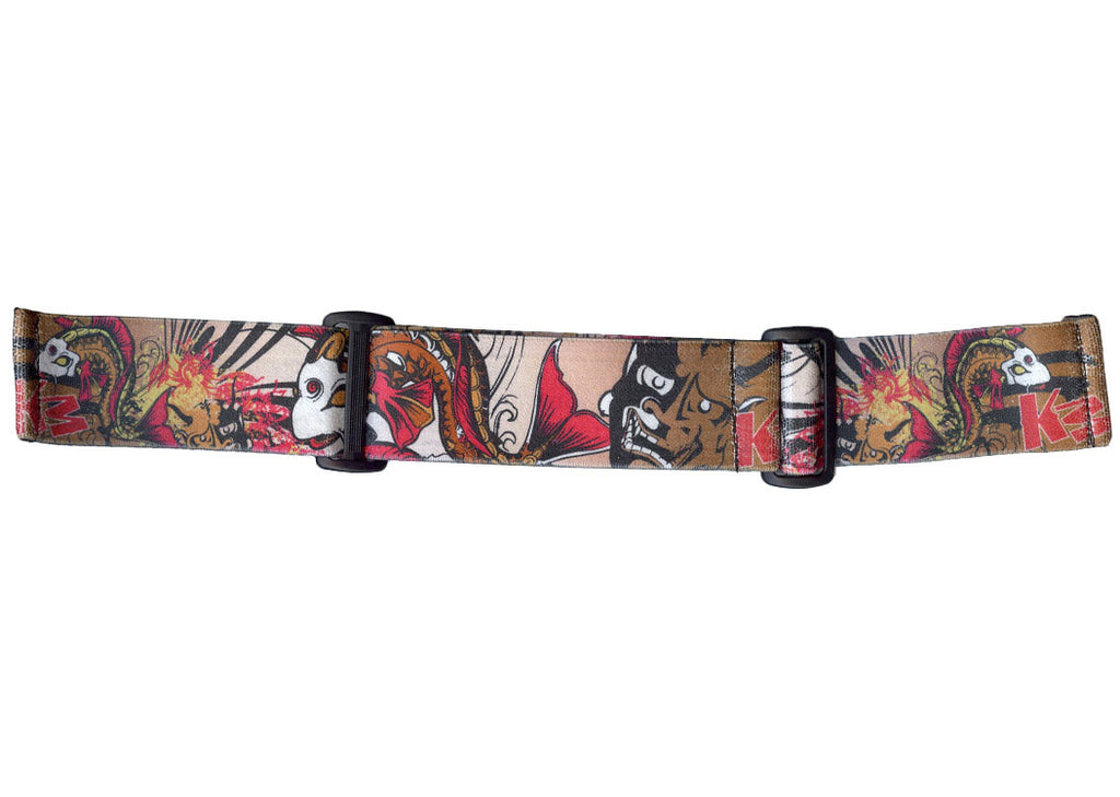 KM Paintball Goggle Strap - 09 Koi Gold