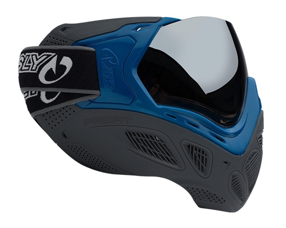 Sly Paintball Mask Profit Series - LE Blue/Grey