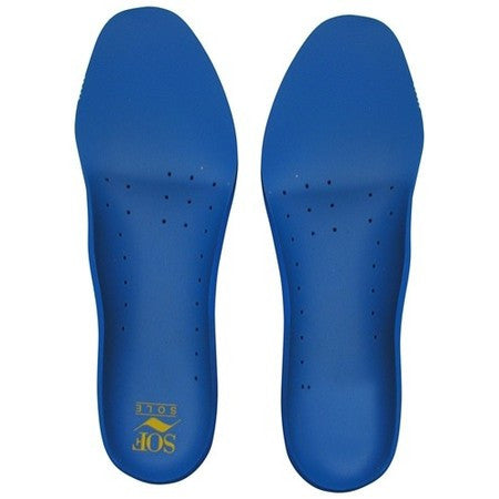 Sof Shoe Soles - Walk - Blue 7-8 1/2