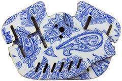 Stinger Paintball Designs Custom Soft Ears - Bandana - Blue/White