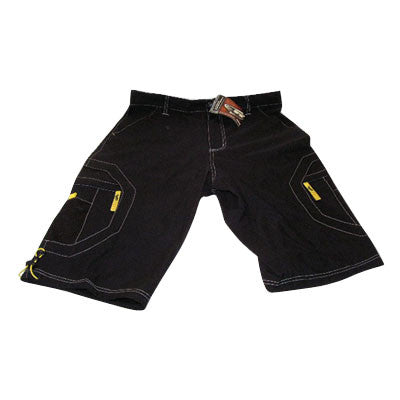 JT Men's Longboard Shorts - Black