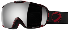 Dye T1 Bjorn Snowboard Goggles w/ Additional Lens - Smoke Silver Polarized
