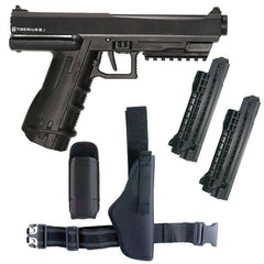 Tiberius Arms 8.1 Paintball Gun Pistol Players Pack - Black