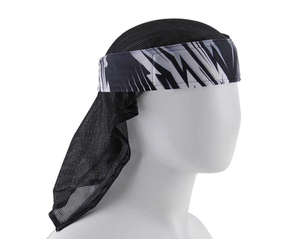 HK Army Headwrap - Tazzed Grey
