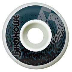 Birdhouse Organism - White - 51mm - Skateboard Wheels (Set of 4)