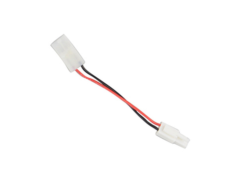 Tenergy Charger Adapter For Airsoft gun Battery Pack - One Side Large Female To Mini Male Tamiya Connector