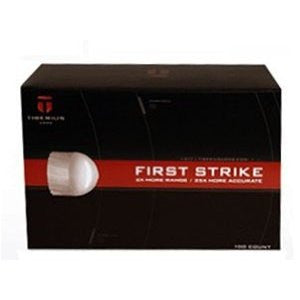 Tiberius Arms First Strike Paintballs 50 Count - White Fill