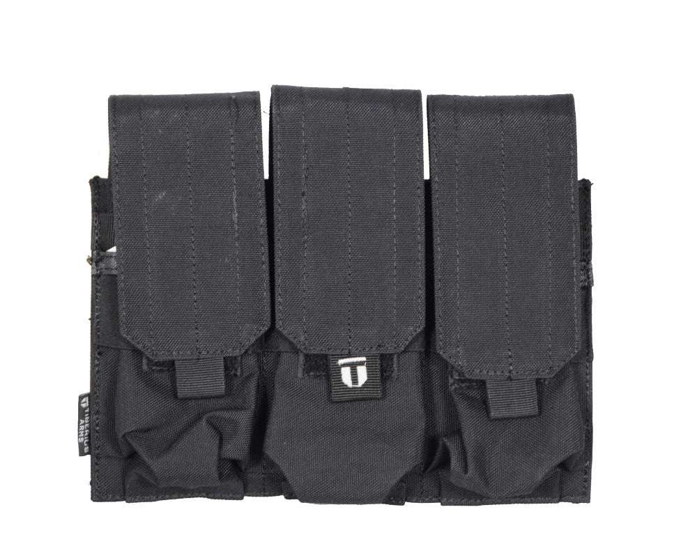 Tiberius Arms EXO Mag Pouch Triple / Double - Black