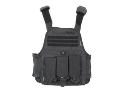 Tiberius Arms EXO Tactical Recon Paintball Vest - Black