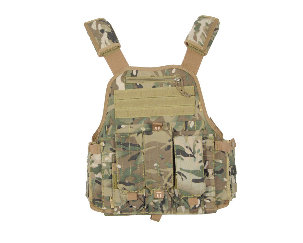Tiberius Arms EXO Tactical Recon Paintball Vest - TriCam