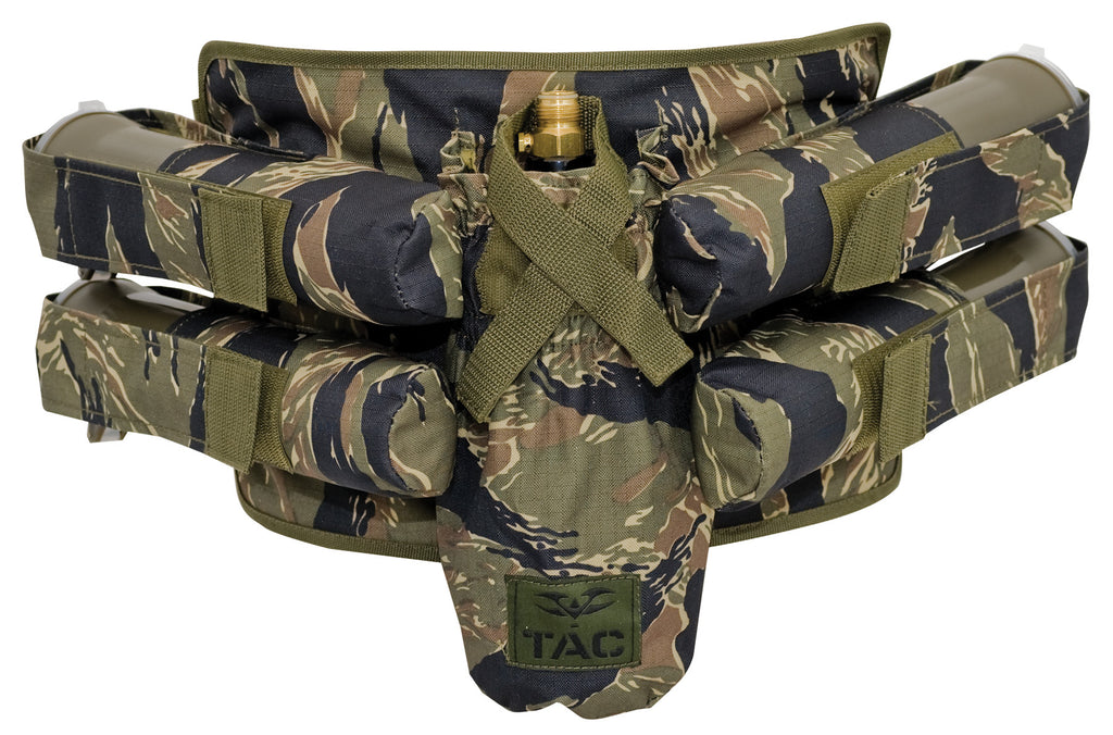 Valken V-Tac Paintball Harness 4+1 - Tiger Stripe