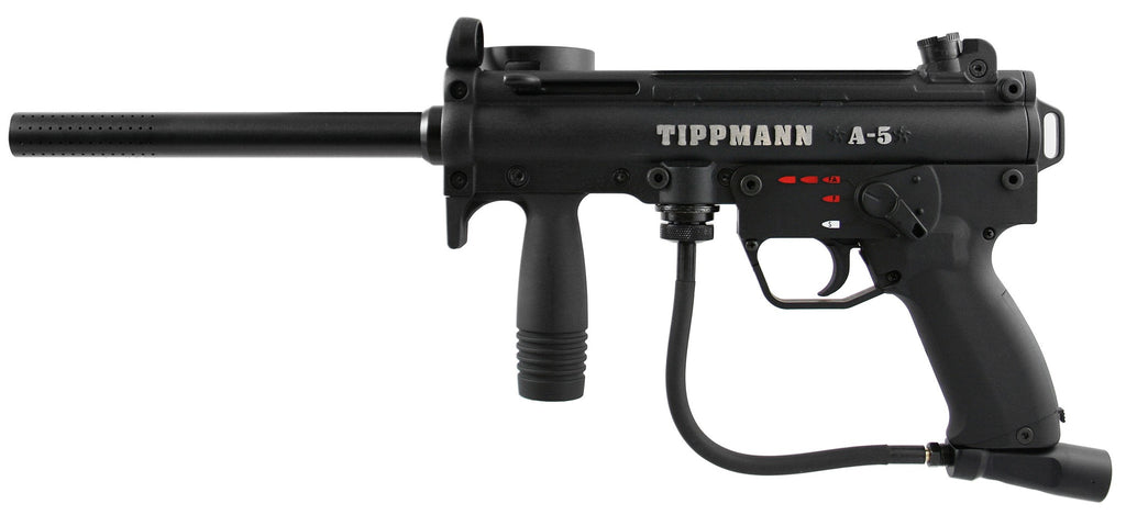 Tippmann A5 E Paintball Gun w/ H.E. Grip (T101043)
