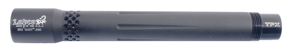 "Lapco Tippmann TPX Big Shot Barrel - 8"" - .690 - Dust Black"