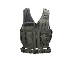 UTG Crossdraw Tactical Airsoft Vest - Right Hand - Olive