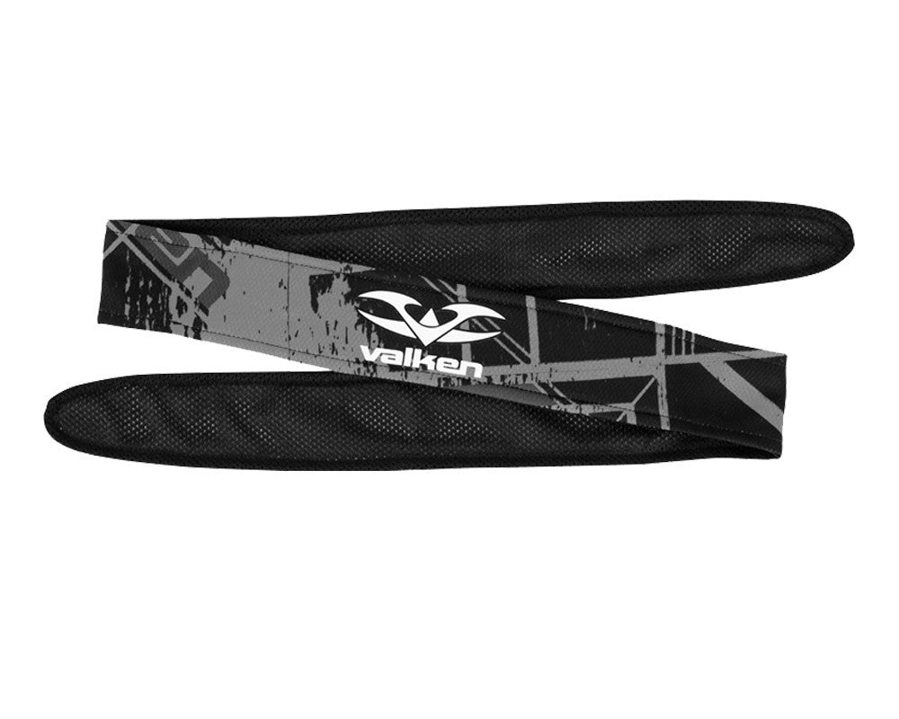 2014 Valken Crusade Paintball Headband - Hatch Grey