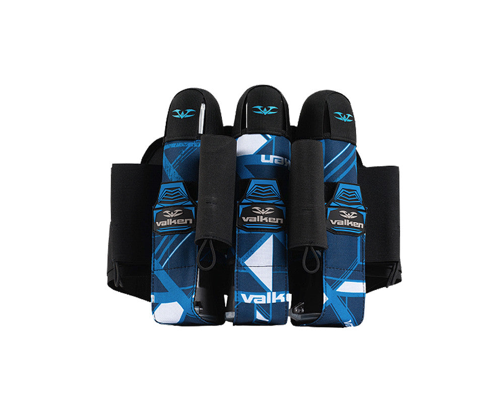 2014 Valken Crusade Paintball Harness 3+6 - Hatch Blue