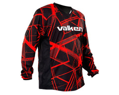 2014 Valken Crusade Paintball Jersey - Hatch Red