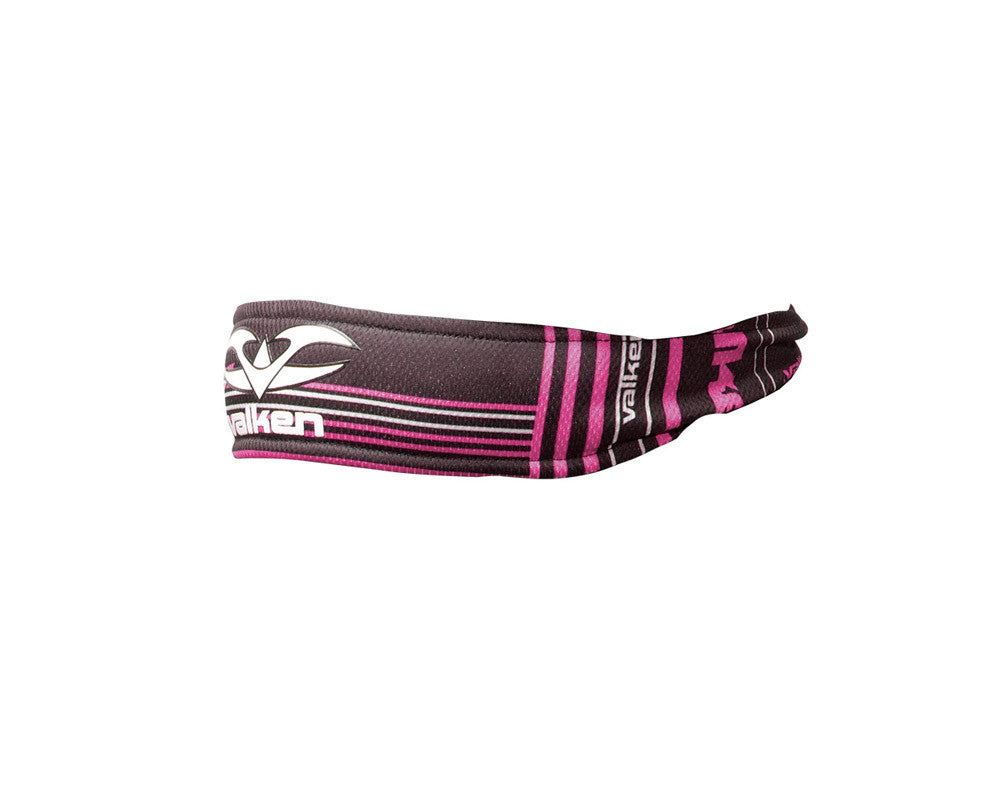2012 Valken Crusade Paintball Headband - Tron Pink