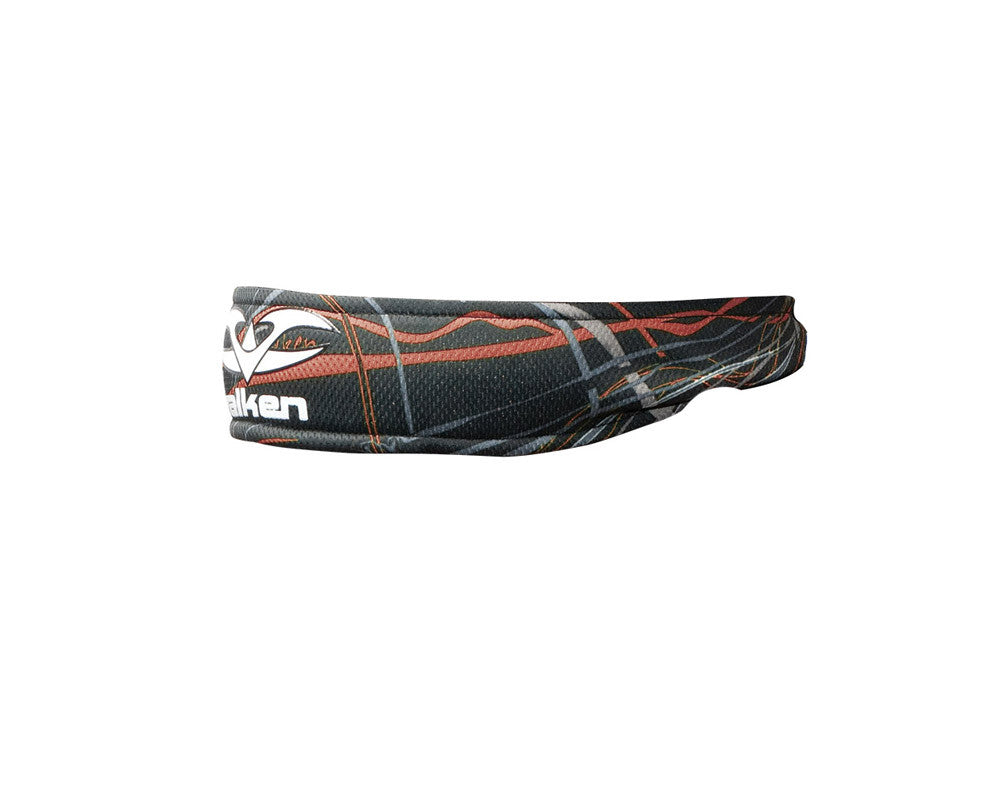 2012 Valken Crusade Paintball Headband - Static Red