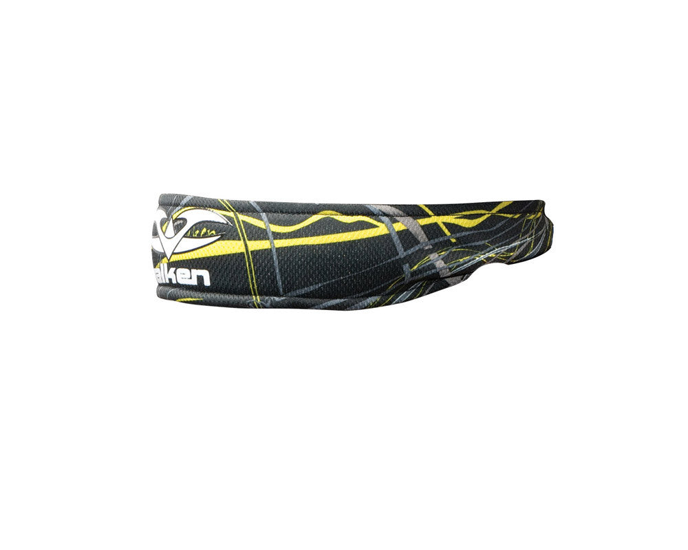 2012 Valken Crusade Paintball Headband - Static Yellow