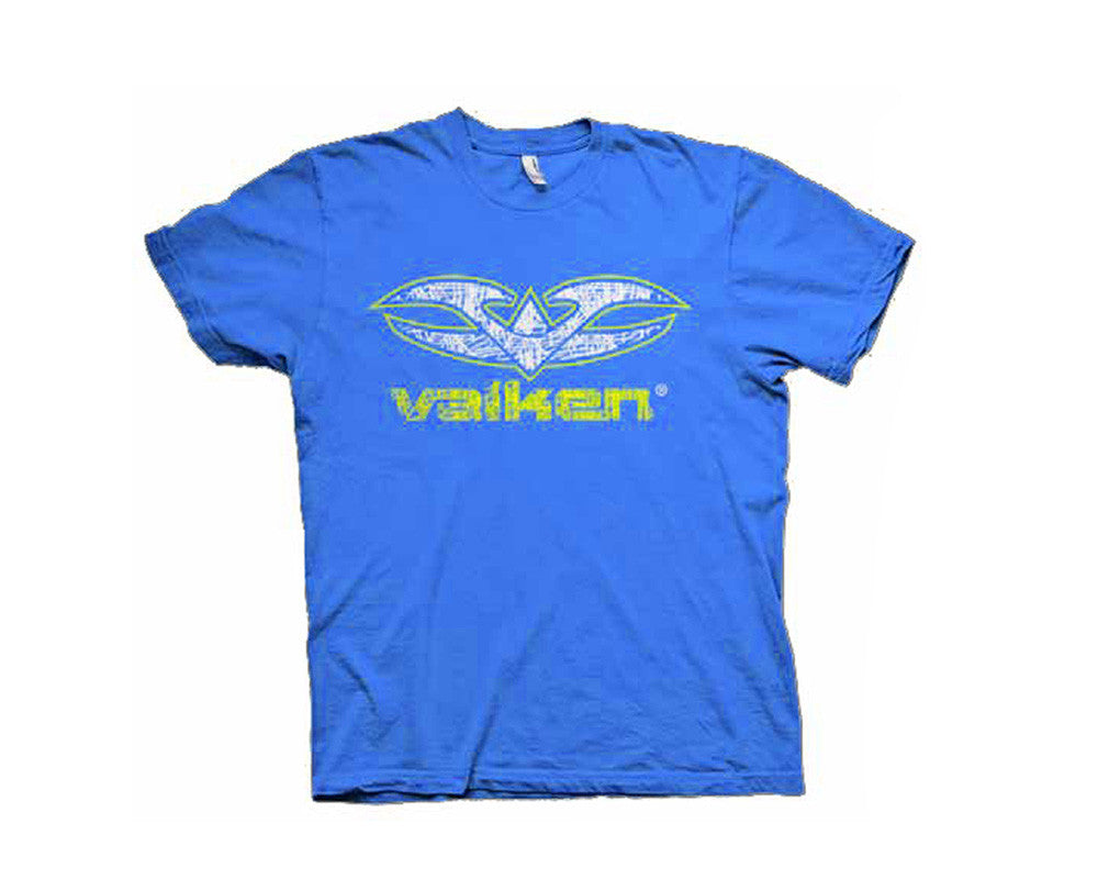 2012 Valken Paintball Scribbled T-Shirt - Blue