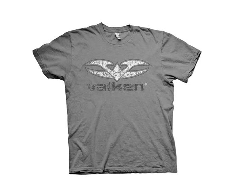 2012 Valken Paintball Scribbled T-Shirt - Grey