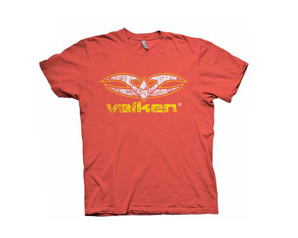 2012 Valken Paintball Scribbled T-Shirt - Red