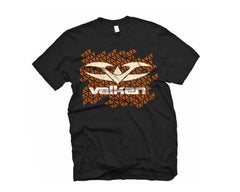2012 Valken Paintball Tread T-Shirt - Black