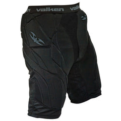 2011 Valken Paintball Padded Slide Shorts - Black