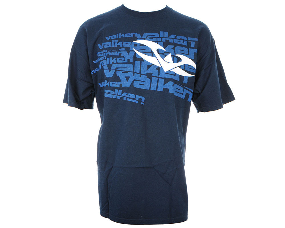 Valken Paintball Scattered T-Shirt - Navy