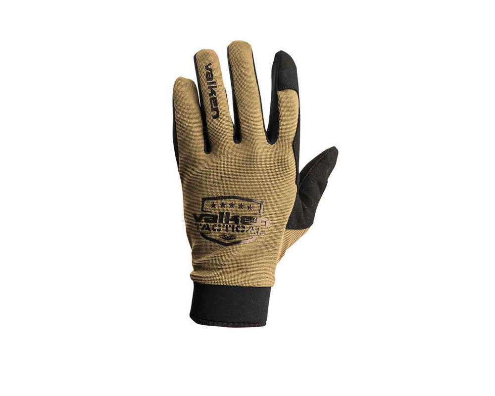 Valken V-Tac Sierra II Paintball Gloves - Tan